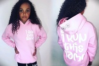 I Run This Game - Candy Pink Hoodie