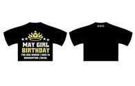 May Birthday - Cropped T-Shirt GIRLS