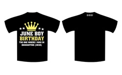 June Birthday - Full T-Shirt BOYS