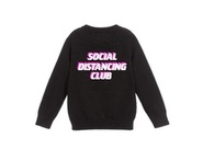 Social Distancing Club - Sweater in Pink