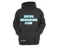 Social Distancing Club - Hoodie in Blue