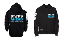Steps Ahead - Zipped Hoodie