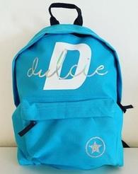 Custom YOUR NAME - Back Pack - Blue