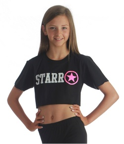 Adults Starr Cropped Tee