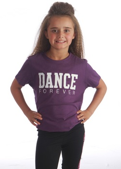 Dance Forever Tee - Purple