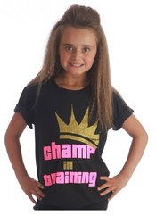 VIP Glitter - Champ in Training Tee