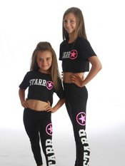 Original Starr Combo Leggings and Cropped T-Shirt