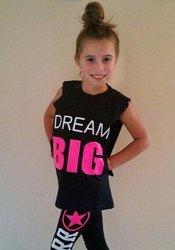 Dream BIG Sleeveless T-Shirt