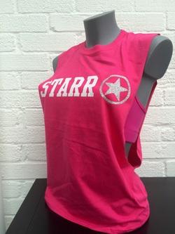 Starr Original Hot pink Sleeveless Tee