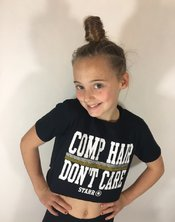 Comp Hair Dont Care cropped T-Shirt
