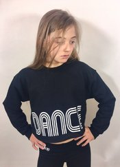 Starr Dance Crew Low Cropped Sweater