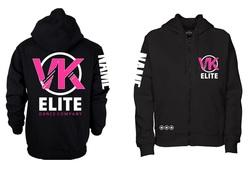 VK Elite - Zipped Hoodie